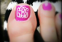 Manicure & Pedicures / Toes and Nails / by Sandra Boswell
