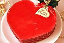 Beautiful Christmas cakes 美しいクリスマスケーキ