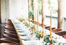 Heavenly Tablescapes / Beautifully styled wedding and event table design