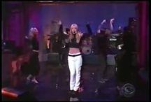 1999. At David Letterman