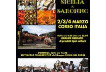 Sicilia a Saronno: grande mercato di prodotti tipici siciliani e spettacolo folkloristico 2-3-4 marzo