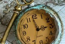 Time / Have always been fascinated by old clocks.  Time!  There never seems to be enough! Use it wisely and never waste it!
