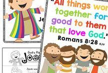 Kindergarten Bible Lessons