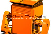 Waste Recycling Machines / OPTIMA ELEKTRO designs and manufactures waste recycling machines like Press & Balers, Shredders for all the waste that you can think of.