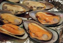 Appetizers at Hing's Chinese Restaurant / Appetizers: 15 items including... Mussels, Seaweed Salad,