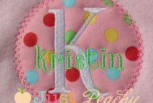 Embroidery & Applique Designs I Have