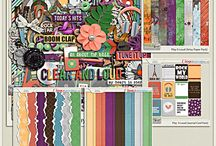 {Play It Loud} Digital Scrapbook Collection by Pixelily Designs