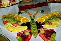 Terveelliset herkut / Terveellisiä, herkullisia, näyttäviä tarjoiluannoksia illanistujaisiin.
