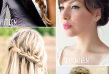 hairstyles / by Leah Cole