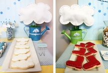 Avery's Rain Boots Party / Avery's 2nd b-day inspiration board / by Carey C. Bailey