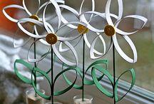 paper tube daisy 2