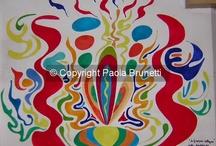 Miei quadri su tela