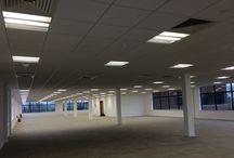 Caldecott Lake Business Park, Milton Keynes / Lighting project by Konect Electrical Services.