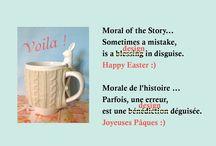 Our Easter Story / Bunny Mug
