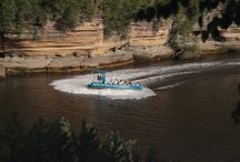 Jet Boats / The best attraction in the Dells combines a scenic tour with a water park experience as our pilots do spins and power stops to get you wet!!