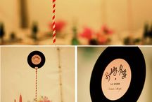 Vinyl wedding