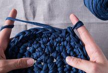 かぎ針編みのバスケット