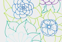 Colorzen (coloring pages with colored shapes)