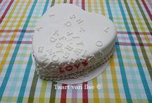 Love / Valentine's day cakes