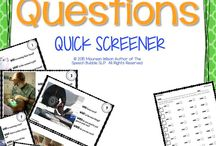 Speech Tx: assessments