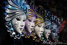 Masks / by Lisa Pannell Pitkin