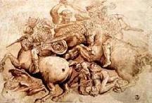 Leonardo versus Michelangelo