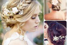 wedding / hair