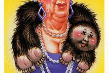 Garbage Pail Kids cards I had or remembered
