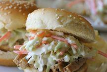 Sandwiches, Burgers  & Sliders
