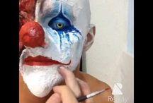 terror makeup