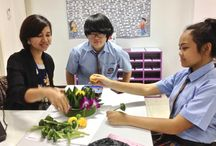 Krathong Making for History Class