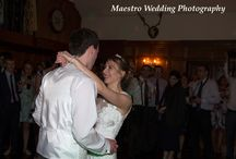 Our first Dance as Mr and Mrs. / Emily and Chris at Deer P[ark enjoying their first dance.