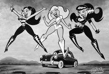 Rockabilly Cartoon