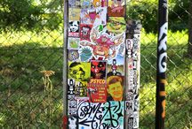 sticker / stickers stickercombo stickerart wojo streetart straatkunst