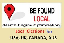 Google Business listing,  Local SEO, Citations