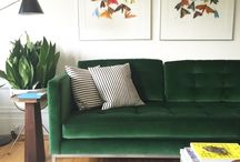 green couch project
