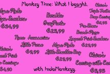 Monkey Time: What I bought / Things that I bought