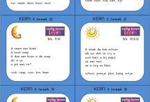 Groep 3 - Spelling: Dicteekaartjes (VLL)