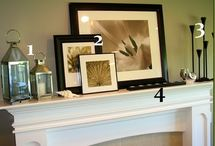 Fireplace Mantel Ideas / Fireplace mantel ideas so I can redo mine.