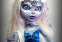 Monster High repaints custom dolls / monster high xD