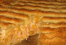 Torta de frango com crema cheesse