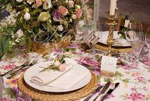Mesas decoradas - tables