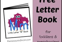 Phonics / Letter Mm Book with poems