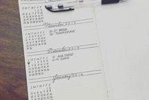 Planner, Journal - year