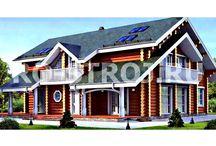 Проекты домов из бревна / Компания «Ро-строй» занимается проектированием и строительством частных домов из бревна. Такой вид строительства имеет ряд существенных преимуществ, таких как: низкая стоимость, высокая скорость строительства, экологичность и низкая теплопроводность. Вывод: строительство из бревна подходит тем, кому нужен недорогой и экологичный дом.