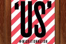 Migration Nation / Crowdsourced posters for immigration reform.
