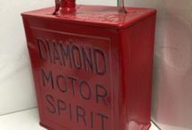 DIAMOND MOTOR SPIRIT / Visit our website to see our full range of automobilia. Stock changes regularly, so check back for new products: http://mattsautomobilia.co.uk