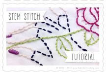 STITCHES / RIBBON EMBROIDERY