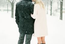 snow engagement inspiration / by Nadia Hung
