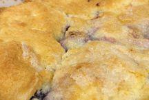 Recipes: Desserts: Blueberry & Blackberry / by Kate Jeter